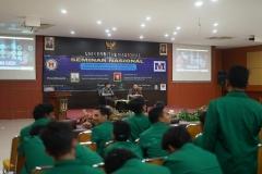 """Seminar Nasional """"Peran Engineer Dalam Menghadapi Peluang dan Tantangan di Industri 4.0"""" di Auditorium Blok 1 lantai 4 UNAS, Kamis (18/7)"""