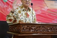 Ketua Umum PP Ikatan Sarjana Nahdlatul Ulama (ISNU) Dr. Ali Masykur Musa, M.Si., M.Hum