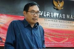 Kepala Badan Pembinaan Ideologi Pancasila Prof.Dr. Hariyono, M.Pd.