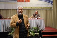 Ketua program doktoral ilmu politik sekolah pascasarjana UNAS Dr. TB Massa Djafar