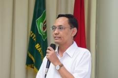 Budi R Minolyo (Indocita Karya Global) Sedang Mengisi Seminar