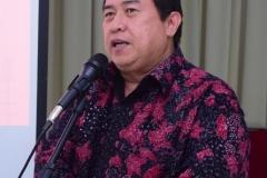 Ginandjar (Manager Komunikasi PetroChina International Companies in Indonesia) Sedang Memberikan Sambutan