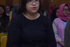 Koordinator Badan Eksekutif Nasional Solidaritas Perempuan Dinda Nuurannisaa Yura