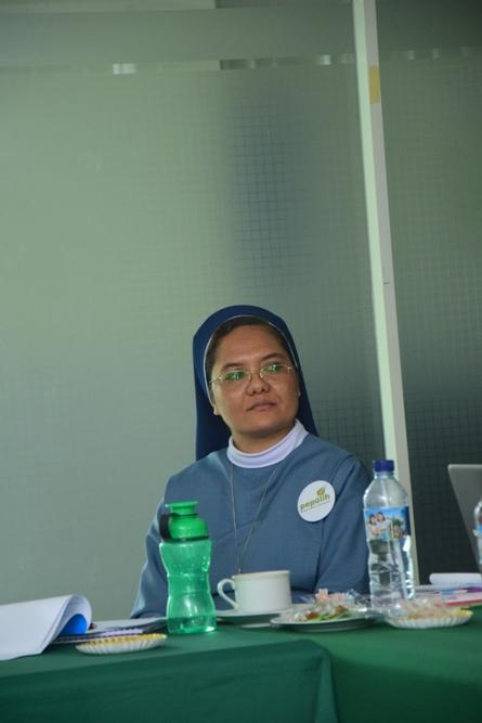 Peserta dari delegasi kristen