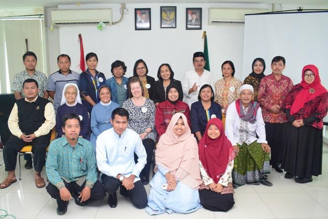 Sesi foto bersama setelah seminar