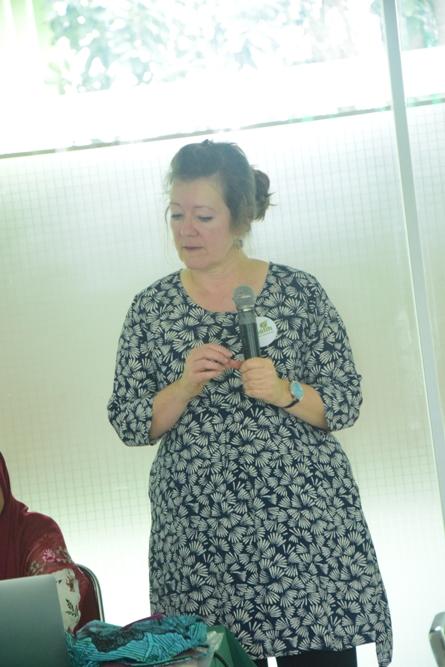 Susi Weldon dari Faith in Water Project