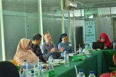 Pemberian materi oleh delegasi UNICEF