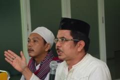 Pemberian materi oleh delegasi agama islam