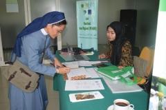 Saat pendaftaran peserta seminar