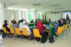 Suasana seminar wash, air, sanitation and hygine