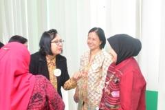 Suasana ramah tamah seusai seminar