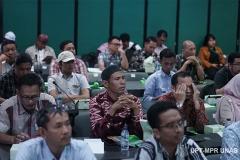 """Para peserta seminar yang hadir pada Seminar Porang Nasional 2020 """"Prospek Bisnis Porang Dalam Era Disrupsi 21"""" di Gedung Kementerian Pertanian Republik Indonesia pada Sabtu (14/3)"""