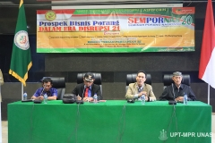 """Seminar Porang Nasional 2020 """"Prospek Bisnis Porang Dalam Era Disrupsi 21"""" di Gedung Kementerian Pertanian Republik Indonesia pada Sabtu (14/3)"""