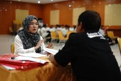 Proses wawancara oleh perwakilan dari  Badan Nasional Sertifikasi Profesi