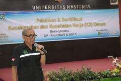 Anggota asosiasi profesi ASTTI (Asosiasi Tenaga Teknik Indonesia) Ir. Budi Harsono, M.M.