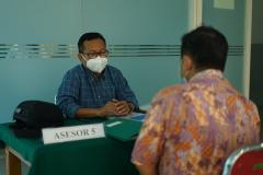 Proses asesment Asesi oleh para asesor