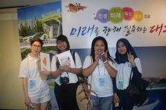 Foto bersama setelah youth camp