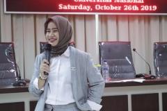 Deputy Secretary OIC Youth Indonesia Dhini Azani Kusuma Dewi, S.IP.