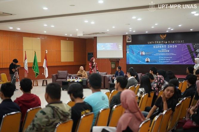 """Talkshow """"Artificial Intelligence (Toward Creative Indonesia With Integreted Creation For Society)"""""""