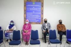 Para undangan yang hadir dalam sidang terbuka promosi doktor Dr. dr. Andi Julia Rifiana, M.Kes di Jakarta (19/11).