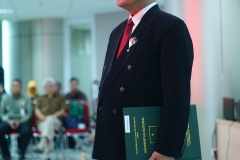 sdr. Eddy  Guridno resmi menyandang kelulusan dengan nilai sangat memuaskan