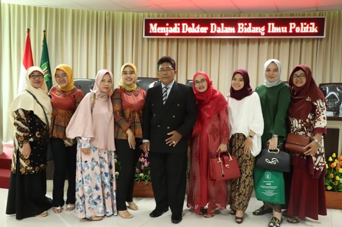 foto bersama Sdr Habib dengan kerabat dan keluarganya