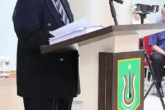 Sidang Doktoral, Sdr Habib sedang memberikan sambutannya
