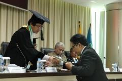 pemberian ijazah kepada Sdr Habib dari Prof. Dr. Kausar AS, M.Si,.(2)