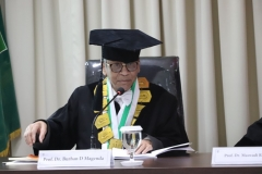 Penguji Sidang Doktoral (Prof. Dr. Burhan  D Magenda)