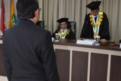 Saat sidang Doktoral Berlangsung 2