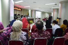 prosesi sidang senat terbuka Sdr Dr. Muhammad Ramdan, di Jakarta (21/3).