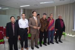 para tamu undangan dalam sidang doktoral