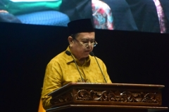 pembacaan doa saat pembukaan sidang senat terbuka wisudawan dan wisudawati UNAS