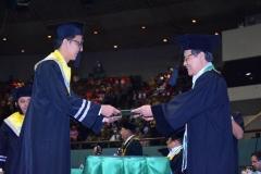 pemberian ijazah program pascasarjana dalam acara sidang senat terbuka