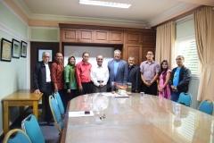 Unas_Silaturahmi Alumni Fisika dgn Rektor