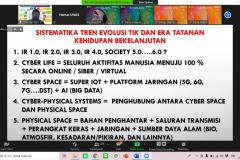 Materi yang dipaparkan oleh Wakil Rektor Bidang Akademik Universitas Nasional Prof. Dr. Iskandar Fitri, S.T.,M.T. dalam acara Seminar Nasional Teknologi Sains dan Informasi (SNTSI) – Batch #1 pada Rabu, 24 Februari 2021 melalui aplikasi zoom