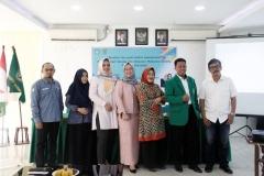 Foto bersama pimpinan dan dosen di lingkungan program studi sosiologi