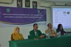 Sosialisasi kurikulum berbasis KKNI, SNPT & SKPI, SKPM Bagi Dosen & Mahasiswa AKPARNAS (2)