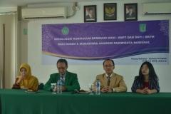 Sosialisasi kurikulum berbasis KKNI, SNPT & SKPI, SKPM Bagi Dosen & Mahasiswa AKPARNAS (3)
