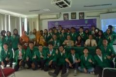 Sosialisasi kurikulum berbasis KKNI, SNPT & SKPI, SKPM Bagi Dosen & Mahasiswa AKPARNAS (8)
