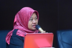 Manager UPT Marketing and Public Relations Dian Metha Ariyanti, S.Sos., M.Si.