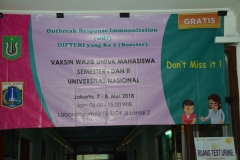 Suntik Difteri yang ke-2 di UNAS (8)