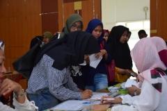 Suntik Difteri yang ke-3 di UNAS (1)