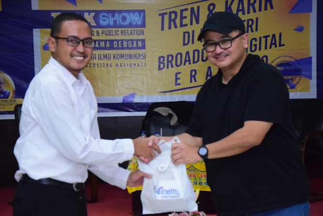 Talk Show Tren & Karir di Industri Broadcast Digital Era 4.0 (2)