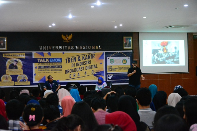 Talk Show Tren & Karir di Industri Broadcast Digital Era 4.0 (9)