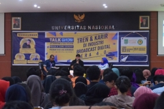 Talk Show Tren & Karir di Industri Broadcast Digital Era 4.0 (1)
