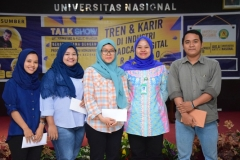 Talk Show Tren & Karir di Industri Broadcast Digital Era 4.0 (4)