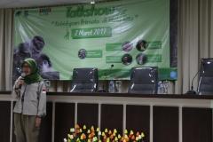 Sambutan oleh Direktur Pusat Riset Perimata UNAS Dr. Sri Suci Atmoko, Ph.D