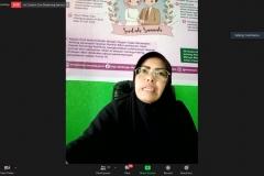 Da'i Konservasi Provinsi Riau, Ustazah Martalena dalam talkshow