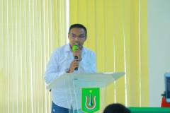 Senior HIPMI PT UNAS Andrean Murdianto pada Temu Mahasiswa HIPMI Perguruan Tinggi Universitas Nasional yang diselenggarakan Inkubator Wirausaha UNAS pada hari Kamis, 15 April 2021
